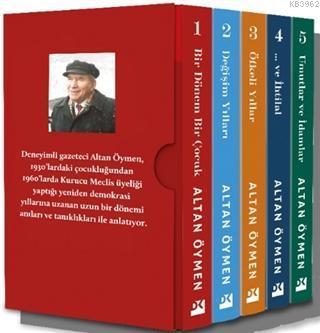 Altan Öymen Anılı Kitaplar Dizisi; 5 Kitap Takım