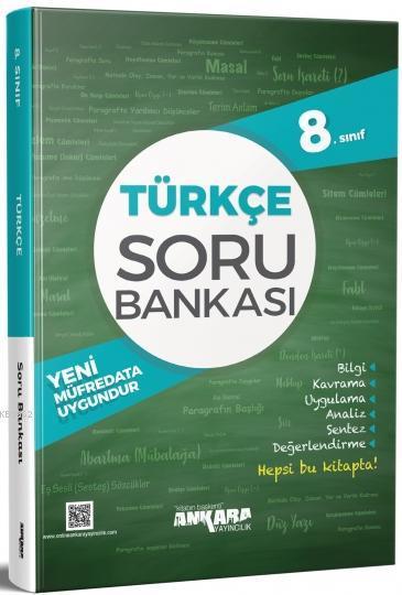 8. Sınıf Türkçe Soru Bankası Ankara Yayıncılık
