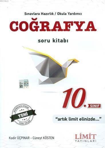 Limit Yayınları 10. Sınıf Coğrafya Soru Kitabı Limit