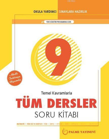 9. Sınıf Temel Kavramlarla Tüm Dersler Soru Kitabı