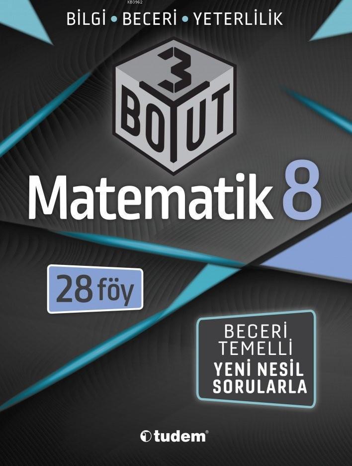 Tudem Yayınları 8. Sınıf LGS Matematik 3 Boyut 28 Föy Tudem