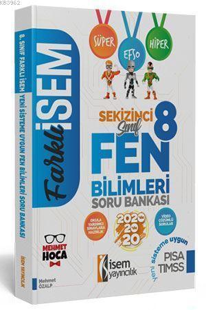 İsem Yayınları 8. Sınıf LGS Fen Bilimleri Soru Bankası İsem