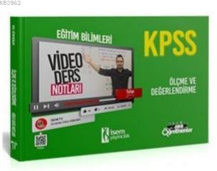 İsem 2021 KPSS Eğitim Bilimleri Ölçme ve Değerlendirme Video Ders Notları