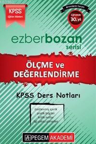 KPSS Ezberbozan Eğitim Bilimleri Ölçme ve Değerlendirme Ders Notları 2016