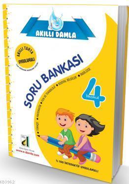 Akıllı Damla 4. Sınıf İnteraktif Soru Bankası