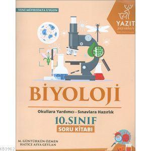 Yazıt Yayınları 10. Sınıf Biyoloji Soru Kitabı Yazıt