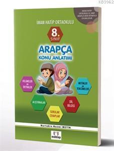 8.Sınıf Arapça Konu Anlatım Kitabı
