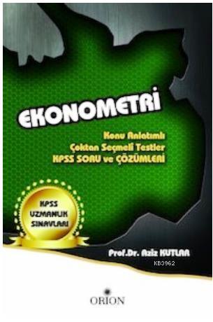 KPSS Ekonometri Konu Anlatımlı