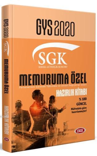 Data Yayınları 2020 GYS SGK Memuruna Özel Hazırlık Kitabı