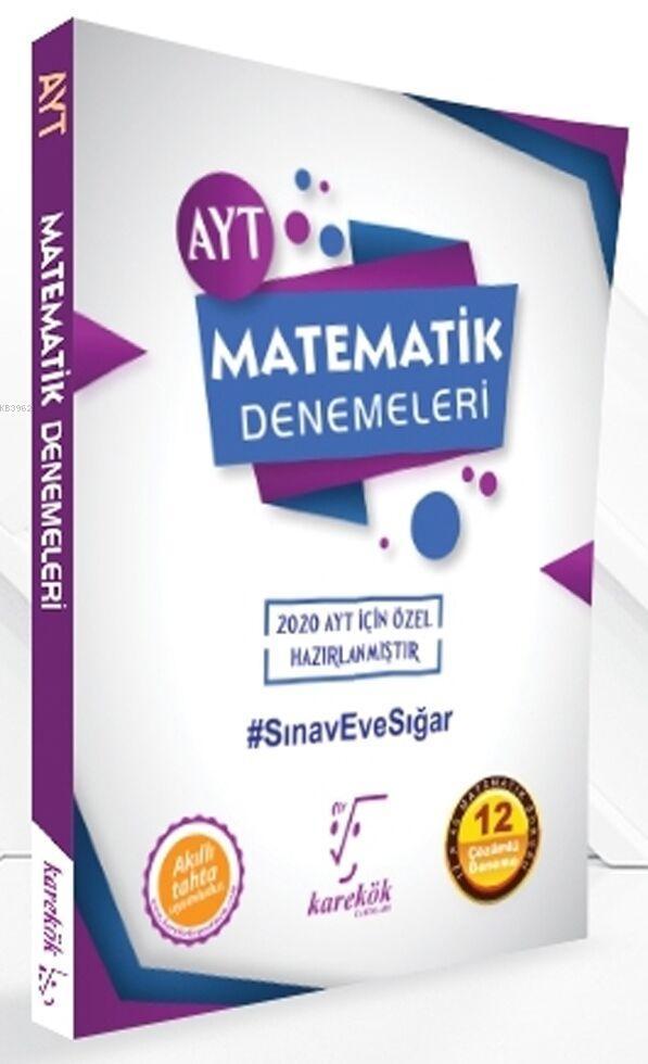 Karekök Yayınları AYT Matematik Özel 12 Çözümlü Deneme