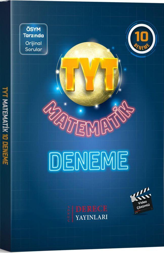 Derece - Tyt Matematik 10 Deneeme