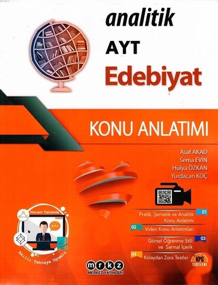 Merkez Yayınları AYT Edebiyat Analitik Konu Anlatımlı Merkez