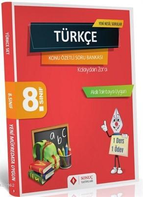 8. Sınıf Türkçe Set