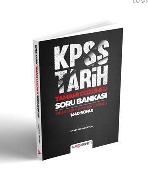 2020 KPSS Tamamı Çözümlü Tarih Sepeti Soru Bankası