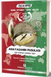 2018 KPSS GYGK Anayasanın Pusulası Çek Kopar Yaprak Test