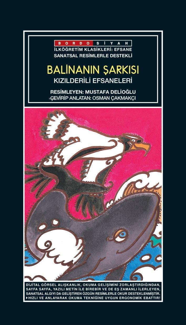 Sanatsal Resimli Balinanın Şarkısı; Kızılderili Efsaneleri
