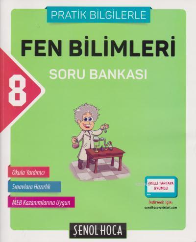 8. Sınıf Fen Bilimleri Soru Bankası (Pratik Bilgilerle)