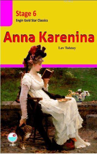 Anna Karenina CD'li (Stage 6 ); İngilizce seviyeli hikaye kitabı. Stage 6