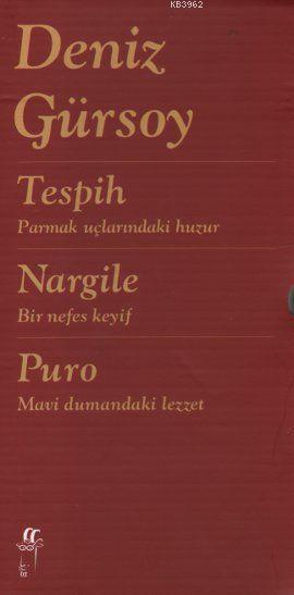 Tespih, Nargile, Puro (3 Kitap Takım-Ciltli)
