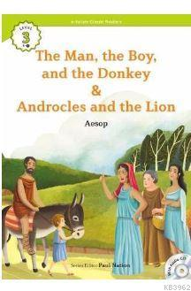 The Man, the Boy, and the Donkey/Androcles and the  Lion +CD (eCR Level 3)