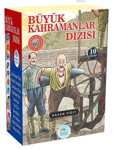 Büyük Kahramanlar Seti 10 Kitap