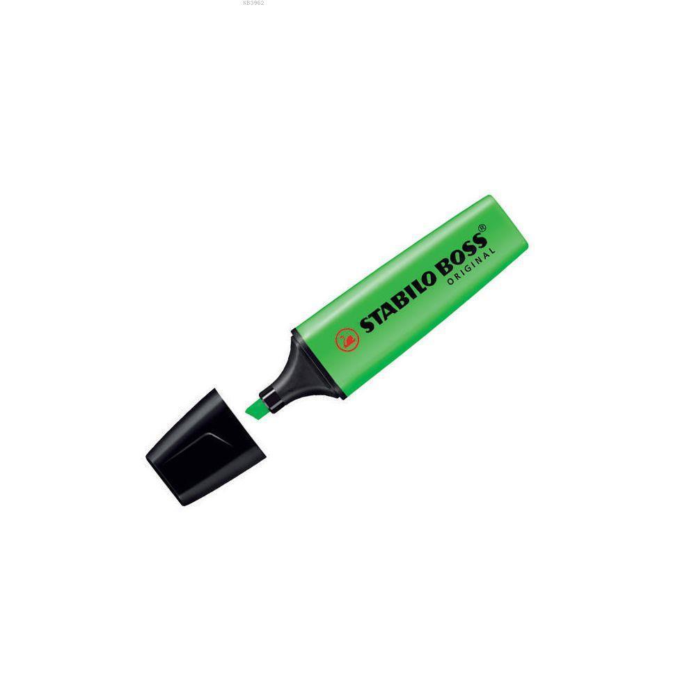 Stabilo Fosforlu Kalem Boss Yeşil 70/33