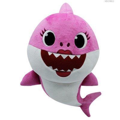 GP Baby Shark Ailesi Anne Peluş Sesli