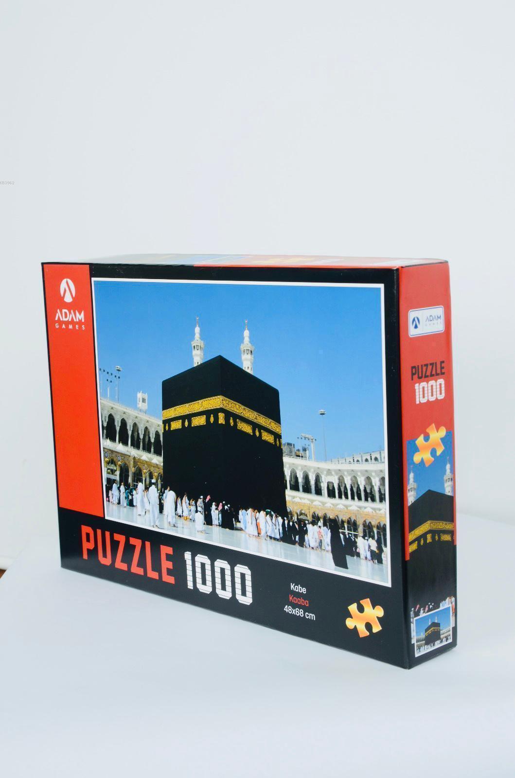 Adam Games Kabe 1000 Parça Puzzle 48x68
