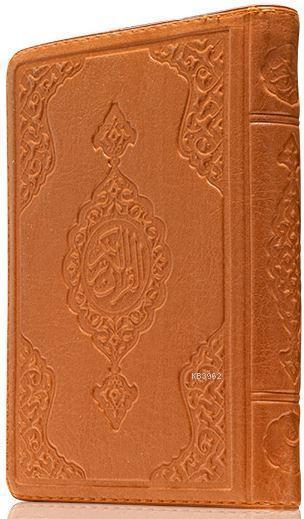 Çanta Boy Kur'an-ı Kerim (Taba Renk, Kılıflı, Mühürlü)