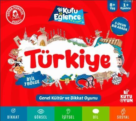 Türkiye Dikkat ve Genel Kültür Oyunu