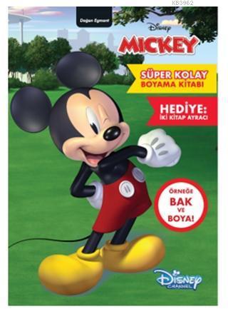 Disney Mickey - Süper Kolay Boyama Kitabı