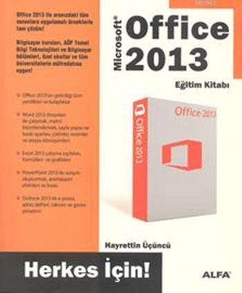 Office 2013 Eğitim Kitabı Herkes İçin