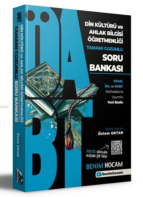2021 KPSS ÖABT Din Kültürü ve Ahlak Bilgisi Tamamı Çözümlü Soru Bankası Benim Hocam Yayınları
