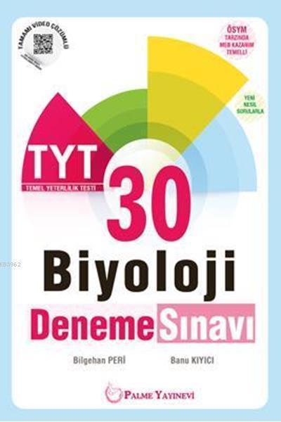 TYT Biyoloji 30 Deneme Sınavı