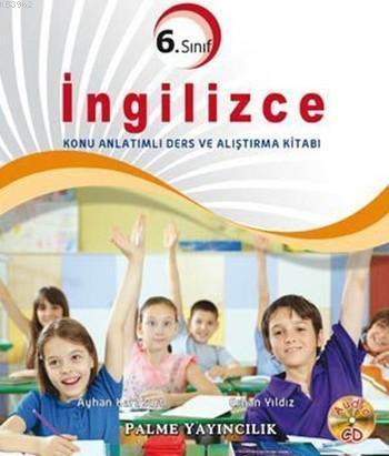 6.Sınıf İngilizce Konu Anlatımlı Ders ve Alıştırma Kitabı; CD Hediyeli