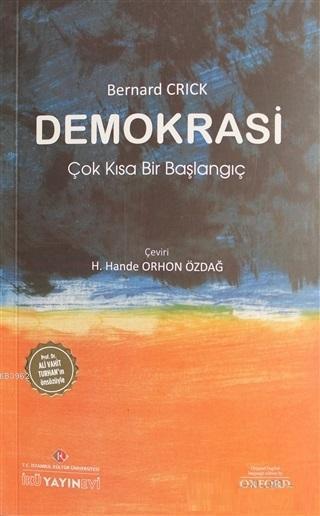 Demokrasi; Çok Kısa Bir Başlangıç