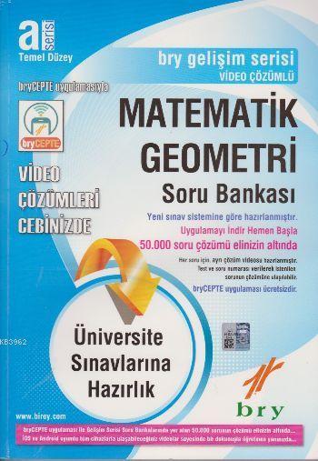 A Serisi Temel Düzey Matematik Geometri Soru Bankası Video Çözümlü