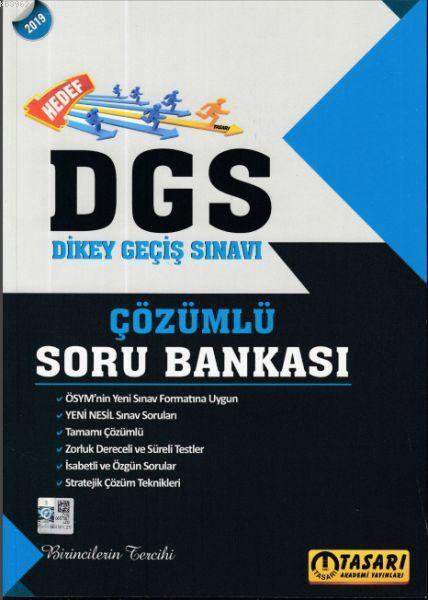 Hedef 2019 DGS Dikey Geçiş Sınavı Çözümlü Soru Bankası