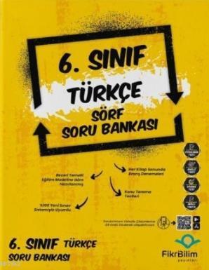 Fikri Bilim 6.Sınıf Türkçe Soru Bankası