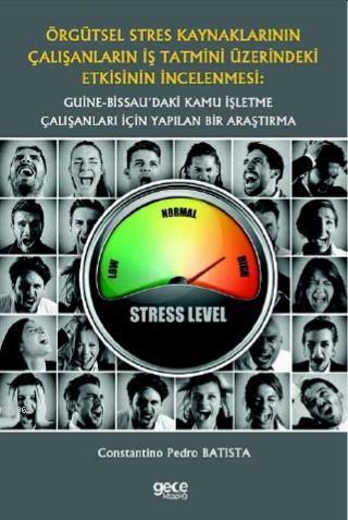 Örgütsel Stres Kaynaklarının Çalışanların İş Tatmini Üzerindeki Etkisinin İncelenmesi; Guine-Bissau'daki Kamu İşletme Çalışanları İçin Yapılan Bir Araştırma