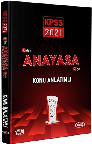 2021 KPSS A'dan Z'ye Anayasa Konu Anlatımlı