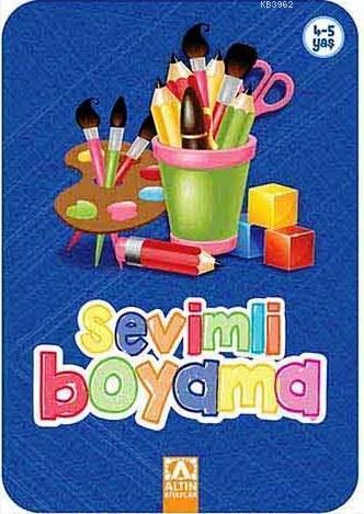 Sevimli Boyama (Lacivert); 4+ Yaş
