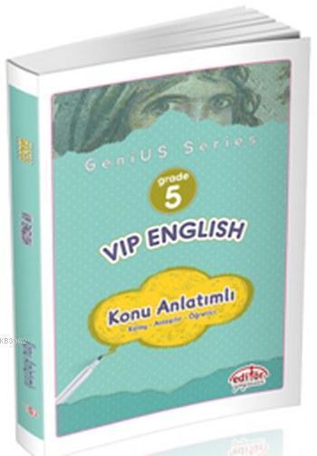 5.Sınıf Vip İngilizce Konu Anlatımlı