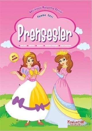 Prensesler - Pembe Seri; Aktiviteli Boyama Serisi