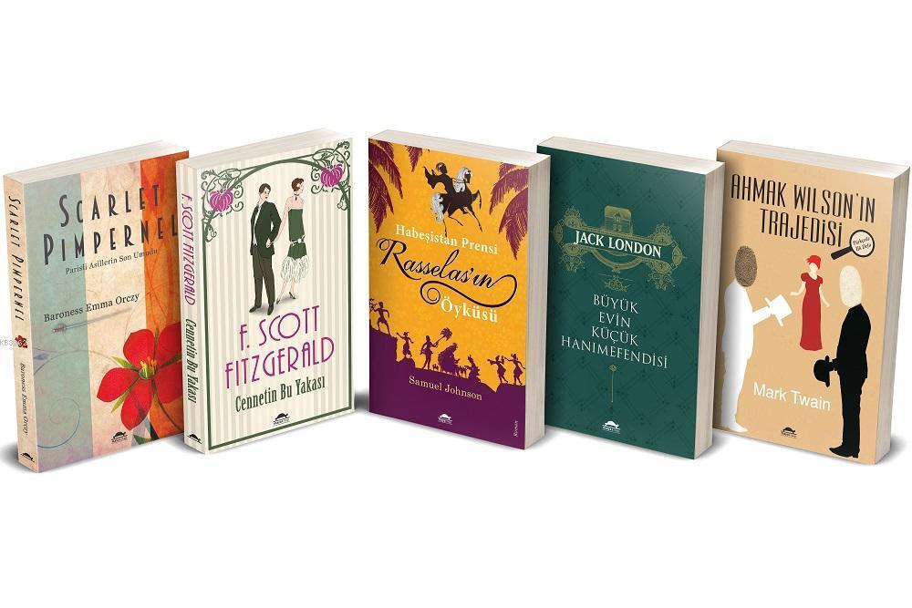Maya Klasik Edebiyat Seti 1 - 5 Kitap Takım