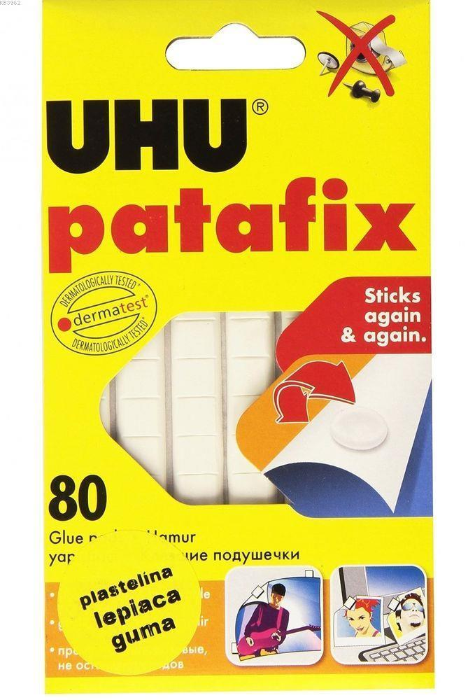 Uhu Yapiştirici Tac Patafix Beyaz 41710