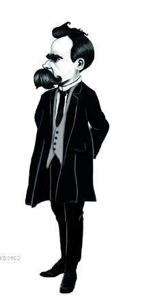 Friedrich Nietzsche Karikatür Ayraç