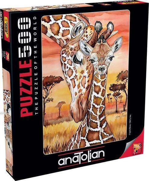 Anatolian-Puzzle 500 Zürafa Giraffe