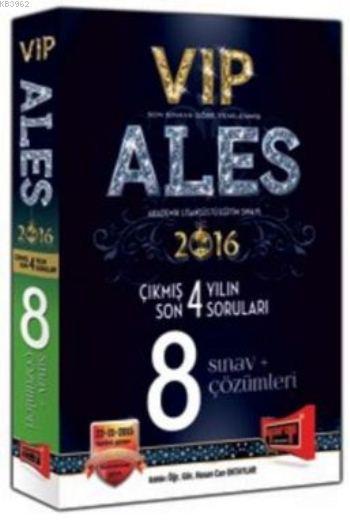 ALES VIP Son 4 Yılın Çıkmış 8 Sınav Soruları ve Çözümleri 2016