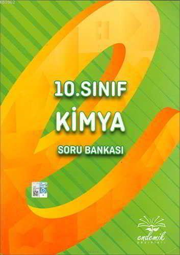 Endemik Yayınları 10. Sınıf Kimya Soru Bankası Endemik